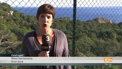 Talen centenars d'arbres a Aigua Xelida