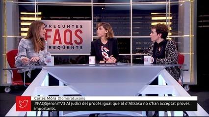 Les advocades Judit Gené i Amaia Izko, al FAQS