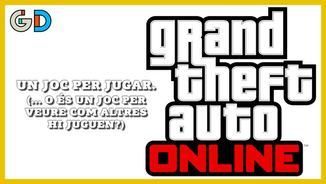 "El submón increïble del GTA: ""Grand theft auto"" online"