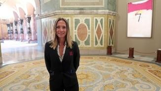 Les cares anònimes del Parlament: Noemí Hernàndez, responsable de visites