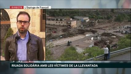 Riuada Solidària per als afectats a l'Espluga de Francolí i Montblanc