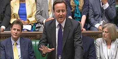 Cameron acusa Brown d'haver amagat informació sobre el deute que ha de pagar el país