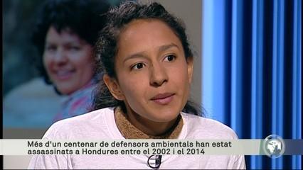 """Berta Zúñiga: """"La mort de Berta Cáceres és un crim polític"""""""