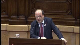 L'oposició diu a Puigdemont que no hi pot haver declaració d'independència encara que sigui diferida