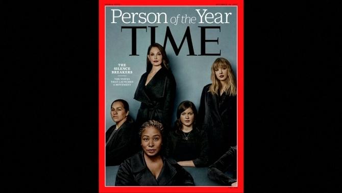 """""""Time"""" tria les dones del #metoo com a personatge de l'any"""