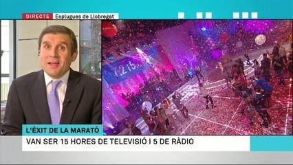 """""""La Marató"""" ho torna a aconseguir: Catalunya es mobilitza per recaptar fons"""