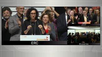 """Marta Rovira: """"Els ciutadans de Catalunya han votat majoritàriament a favor de la república"""""""