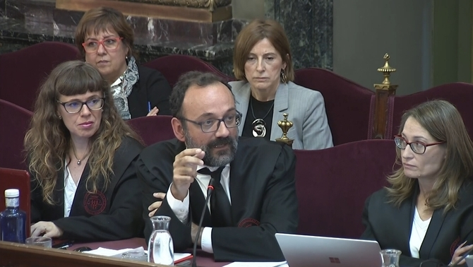 "Marchena to Salellas over a testimony: ""That is an insult towards the members of this court"""