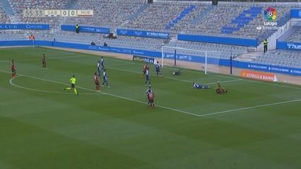 Resum del Sabadell-Mirandés (0-2)