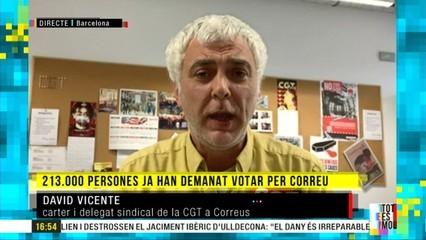 """David Vicente, carter: """"En plena pandèmia, la gent ens dona sobres que acaben de llepar"""""""