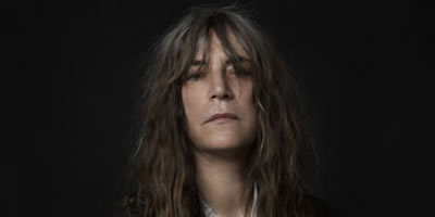 La cantant i poetessa Patti Smith