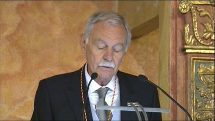 Eduardo Mendoza agraeix el premi Cervantes