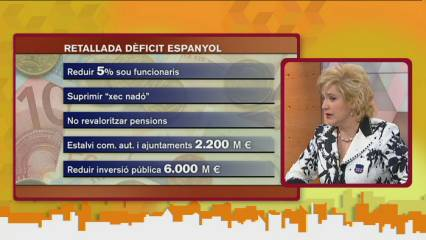 Rahola analitza les mesures anunciades per Zapatero