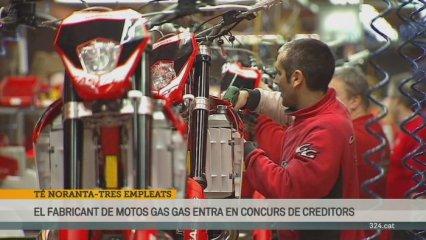 Gas Gas presenta concurs de creditors