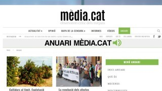 Anuari Media.cat, periodisme independent microfinançat