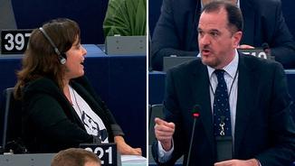 Picabaralla verbal a l'Eurocambra entre Iturgaiz [PP] i Miranda [BNG] per Oriol Junqueras