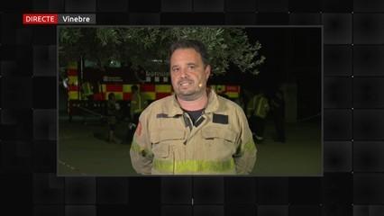 """Marc Castellnou (cap del GRAF): """"Si les condicions no canvien, aquest no serà el pitjor incendi que veurem"""""""