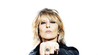 Chrissie Hynde, divertint-se amb el jazz