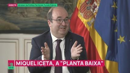 """Miquel Iceta: """"Junqueras ha donat la clau del diàleg"""""""