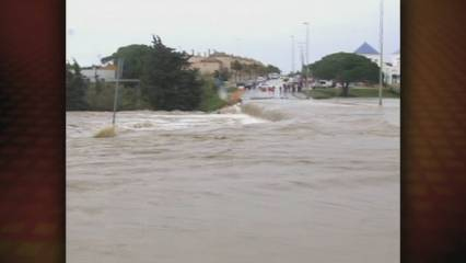 Plou sobre mullat a Andalusia