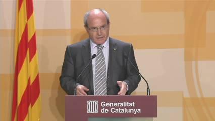 Compareixença en què Montilla ha anunciat el 28/11 per a les eleccions
