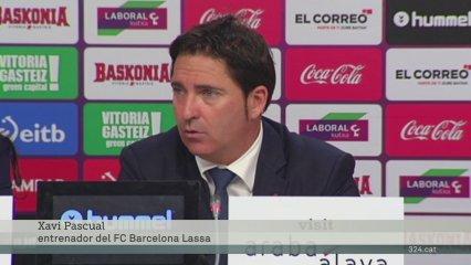Xavi Pascual fa balanç de la patacada a Vitòria