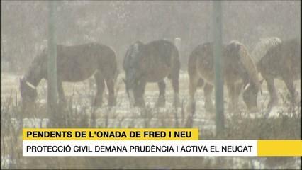 Les notícies del 16/01/17: setmana de fred i negociació dels pressupostos de la Generalitat