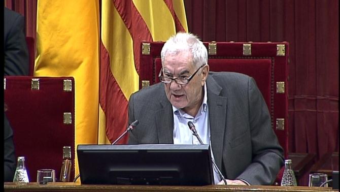 """Discurs d'Ernest Maragall al Parlament: """"L'estat espanyol no sap guanyar, sap derrotar"""""""