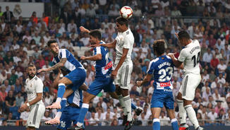 Madrid, 1 - Espanyol, 0. La primera part