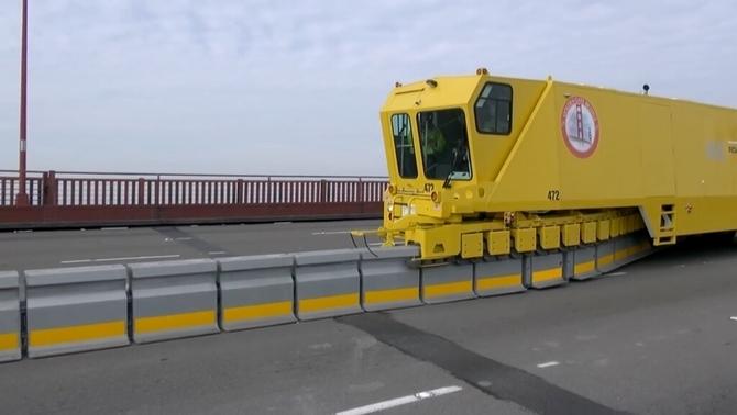 La C-16 es desdoblarà per trams i tindrà un carril reversible amb una barrera mòbil