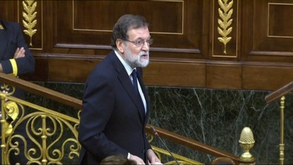 L'estira-i-arronsa sobre corrupció de Pablo Iglesias i Mariano Rajoy al Congrés
