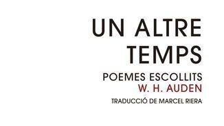 """""""Mentre caminava un vespre"""", poema de W. H. Auden (Nova York, 1907 - Viena, 1973)"""