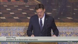Ximo Puig al dia del País Valencià