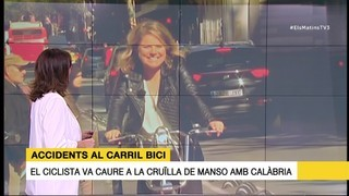 Accidents al carril bici