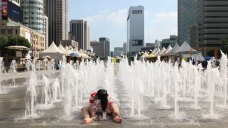 Rècords de calor absolut a Corea del Sud