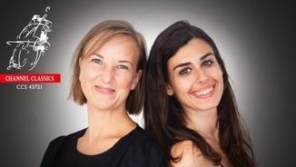 Marie Stockmarr Becker i Ilaria Macedonio interpreten Bach