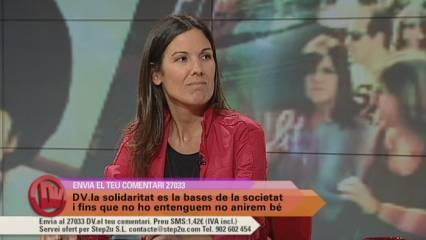 "Laia Serrano i ""Barcelona Actua"""