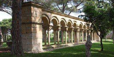 El claustre de Palamós és una recreació construïda al segle XX
