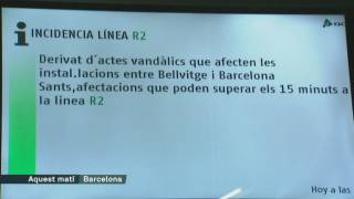 Retards al tren per robatoris de cable