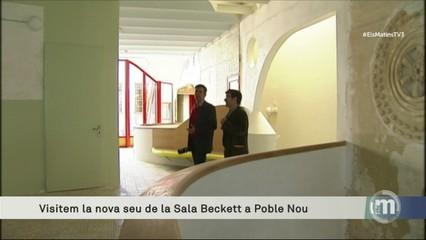 Visitem la nova seu de la Sala Beckett al Poblenou