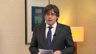 """Puigdemont: """"El govern de Catalunya és infinitament més digne que els seus empresonadors"""""""