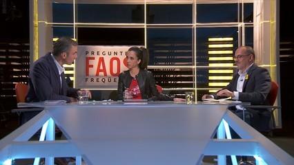 Javier Ortega (VOX) i Carles Campuzano (PDeCAT), cara a cara