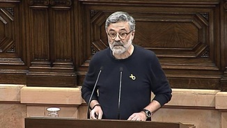 """Carles Riera: """"Mantindrem la nostra abstenció si sobre la taula no hi ha un pla de govern republicà"""""""