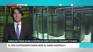 El supercomputador Mare Nostrum 5 del Barcelona Supercomputing Center