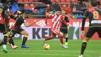 Girona, 2 - Rayo Vallecano, 1. La primera part