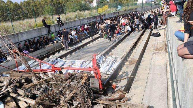 Adif porta al TSJC els sabotatges a la xarxa ferroviària