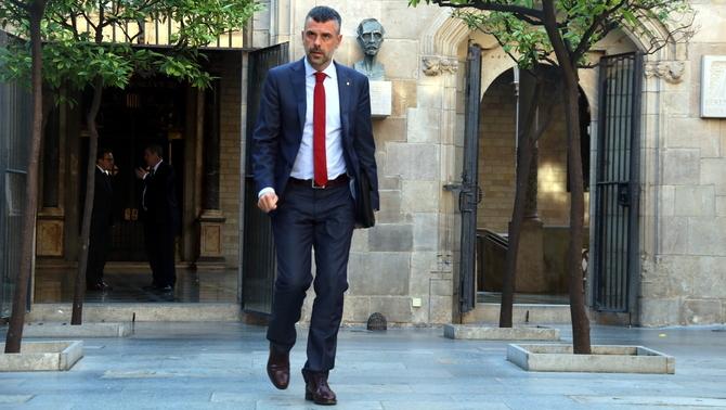 Santi Vila dimiteix com a conseller d'Empresa i Coneixement