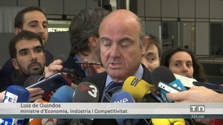 Guindos confia a arribar a la vicepresidència del BCE