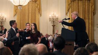 """Jacobo Goldstein, CNN: """"Cap president dels EUA ha vetat un periodista per preguntar excepte Trump"""""""
