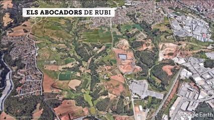 Rubí es revolta contra l'obertura de l'abocador de Can Balasc, el tercer del poble, que el convertiria en el municipi de Catalunya amb més abocadors